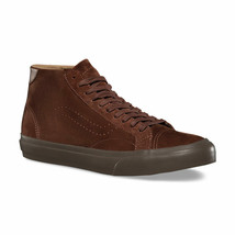 Vans Court Mid Dx (Tanner) Cappuccino Dark Gum Suede Men's 7.5 Women's 9 - $49.95