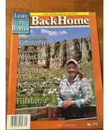 Back Home Magazine - Barter - Sustainable Living - Homeshcooling - Firew... - $8.00