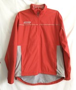 Bauer Hockey Small Jacket Red Ice Skating Vented Zipper Pockets Lined - $24.74