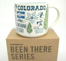 Starbucks Colorado Been There Mug Points of Interest Across Globe 14 oz ... - $31.67