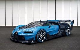 2015 Bugatti Vision Gran Turismo 3 24X36 inch poster, sports car - $18.99