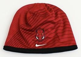 Nike Collegiate Dri Fit Crimson Arkansas Razorbacks Beanie Men's One Size - $29.69