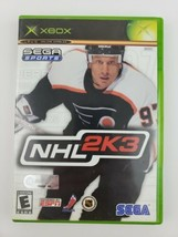 NHL 2K3 Xbox Original Game Complete Tested & Working - $11.10