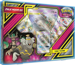 Pale Moon GX Box Collection Pokemon TCG 4 Booster Packs + Promo Sun & Moon - $22.99