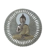 """BUDDHA Circular Wall Decor 23"""" Meditating Sculpture - $74.99"""