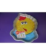 Wilton BIG BIRD Sesame Street Birthday Cake Pan 1992 Insert Muppets Jim ... - $14.84
