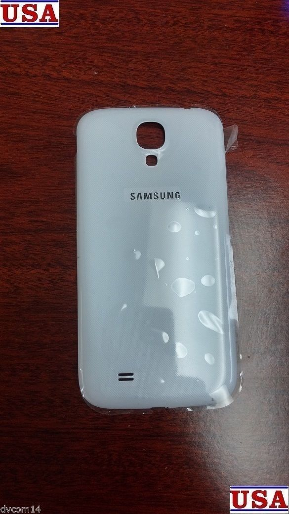 White OEM Original Battery Housing Door Back Cover For Samsung Galaxy S4 i337
