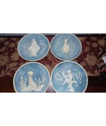 VINTAGE AVONDALE PLATES 4 PC. 78 79 80 GIRL MELISSA&BROTHER DADDY & I FI... - $123.70