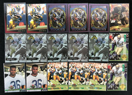 Lot (18) 1993 Jerome Bettis Rookie Card RC Topps Stadium Playoff Select ... - $39.59