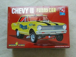 FACTORY SEALED Chevy II Super Boss Funny Car AMT/Ertl for Model King #21... - $49.49