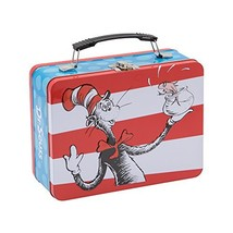 Vandor Dr. Seuss Cat In The Hat Large Tin Tote 17670 - $15.31
