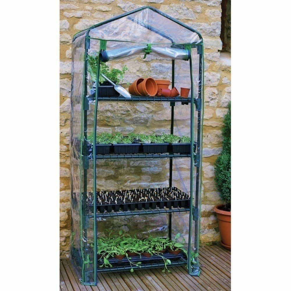 NEW Greenhouse Grow Plant Garden 4 Shelf Portable House Outdoor Tent Gardening