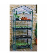 NEW Greenhouse Grow Plant Garden 4 Shelf Portable House Outdoor Tent Gar... - $52.37