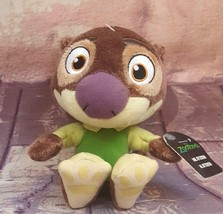"New!Tomy Disney Zootopia  Mr. Otterton 5"" Plush~ Otter Beanbag Stuffed A... - $6.64"