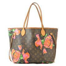 LOUIS VUITTON Monogram Rose Neverfull MM Tote Bag M48613 LV Auth 10165 - $1,800.00