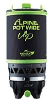 Kovea Alpine Port Wide-up Burner, Portable port with Integrated Gas Stove and Co
