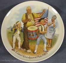 The Patriots Parade Joseph Csatari Grandparent Collector Plate 1985 COA ... - $17.95