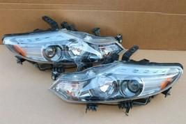 09-14 Nissan Murano Halogen Headlight Head lights Lamps Set L&R MINT