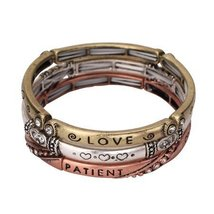 Inspired Silver What is Love Inspirational Silver, Gold, Rose Gold Finis... - $19.55
