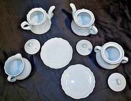 Maryland China Cream, Sugar and TeapotsAA18-1282Vintage 9 piece image 5