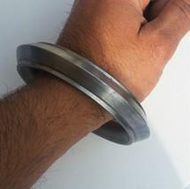 Grueso Un Borde Liso SARBLOH Hierro Puro Sij Singh Khalsa Taksali Kara A... - $34.33