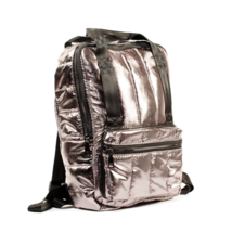 Silver Ultra Light Backpack, Woman Backpack, School Bag - $26.75