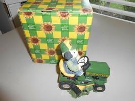 1998 Enesco Mary's Moo Moos Deere To My Heart Deere Tractor Resin Figure 485160 - $11.88