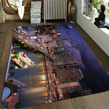 3D City Bridge Sky 1001 Non Slip Rug Mat Quality Elegant Photo Carpet US... - $93.49+