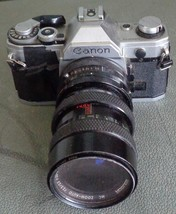 Used Canon AE-1 35mm Film Camera - Manual Focus - Manual Wind - GDC - $89.09
