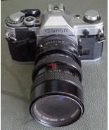 Used Canon AE-1 35mm Film Camera - Manual Focus - Manual Wind - GDC - $89.09