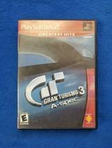 Gran Turismo 3 A-spec Grand ( PS2 2002) PS2 no manual - $6.92