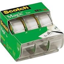 Scotch Magic Tape 3105, 3/4-Inch x 300-Inches, 3 Rolls - $6.62