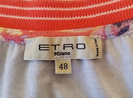 Etro Spa Designer Women's Multi Colored Top  Size 48 / L  image 7