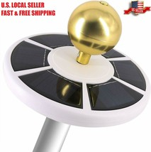 HOOPLE Pro Solar Flag Pole Light, 26 Led Light Auto Active Green Energy ... - $45.00