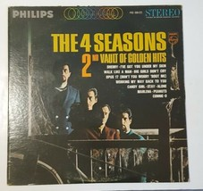 THE 4 SEASONS 2nd VAULT OF GOLDEN HITS LP PHILIPS PHS 600-221 VINYL RECO... - £6.24 GBP