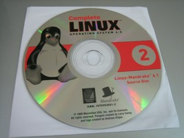 Linux Operating System 6.5 (Linux-Mandrake 6.1 Source) (PC, 1999) - Disc 2 Only - $6.92