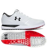 UNDER ARMOUR UA PERFORMANCE SPIKELESS GOLF SHOES SIZE 11.5 NEW W/BOX(129... - $64.52