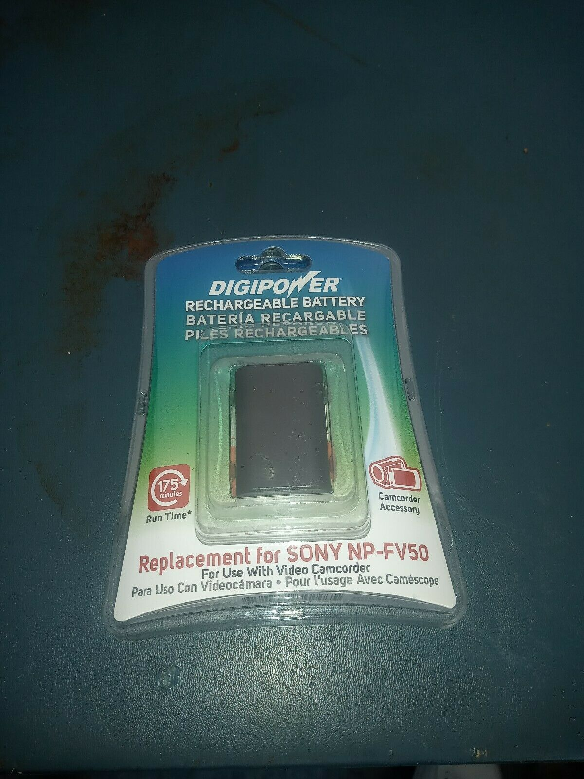 Digipower Rechargeable Digital Camera Battery Sony NP-FV50 New - $9.80