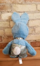 """New Disney Store Authentic Mickey Mouse Easter Bunny Blue Cute Plush 18"""" image 2"""