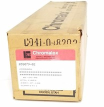 FACTORY SEALED CHROMALOX 288500 IMMERSION HEATER MTO-110E2, 240V, 1P, 100