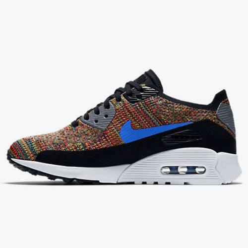 Nike Air Max 90 Ultra 2.0 Breathe Running Shoes Blue White Women's Size 7.5