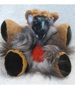 Teddy Bear Rat Hairy Horror Pet Handmade - £65.44 GBP