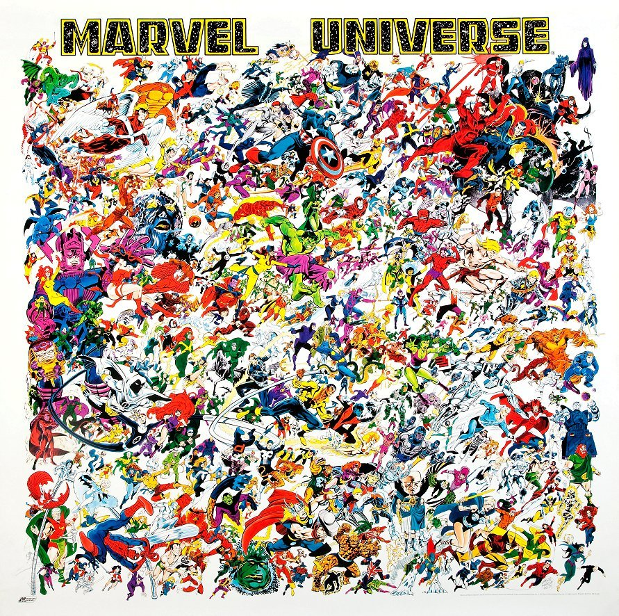 Marvel universe promo poster
