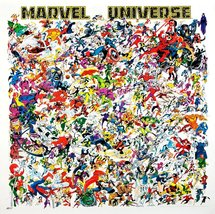 Marvel Comics Marvel Universe Superhero 24 x 24 Reproduction Promo Poster - $45.00