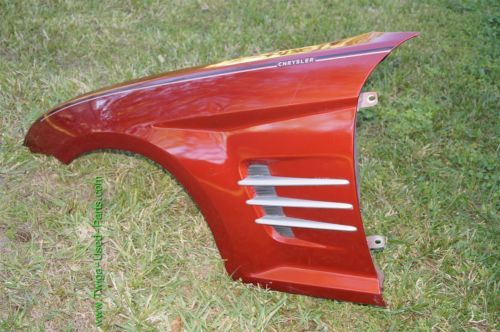 Chrysler CrossFire SRT Fender Driver Left Side - LH ***LOCAL PICK UP ONLY***