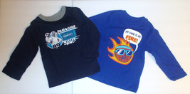 The Childrens Place Toddler Boys T-Shirts Long Sleeve Sports Sizes 2T 3T... - $9.99