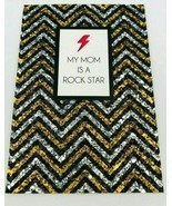 NIQUEA.D Greeting Card Happy Mother's Day My Mom Is A Rock Star W/ Envel... - $6.98