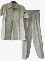 Vtg 1961 Vietnam War US Air Force USAF Summer Shirt & Trousers 2 Piece Set - $71.99
