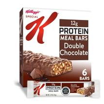 Kellogg's Special K, Protein Meal Bars, Double Chocolate, 6 Ct, 9.5 Oz - $10.00