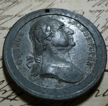 Antique Medal 1889 Centennial George Washington Inauguration New York 40... - $60.00